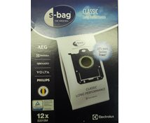 Dammsugspåse S-Bag Long Performance  Mega-Pack 12St 9001684811