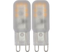 Star Trading 1,8W (18W) 170Lm 2700K G9 Frost 16X47mm 15000Tim 2-Pack 344-07-2